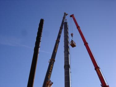 40m skorsten